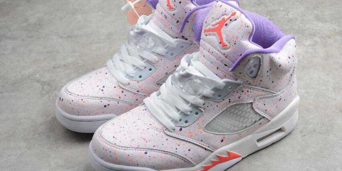 Air Jordan 5 Retro SE GG White Laser Crimson is Available Now