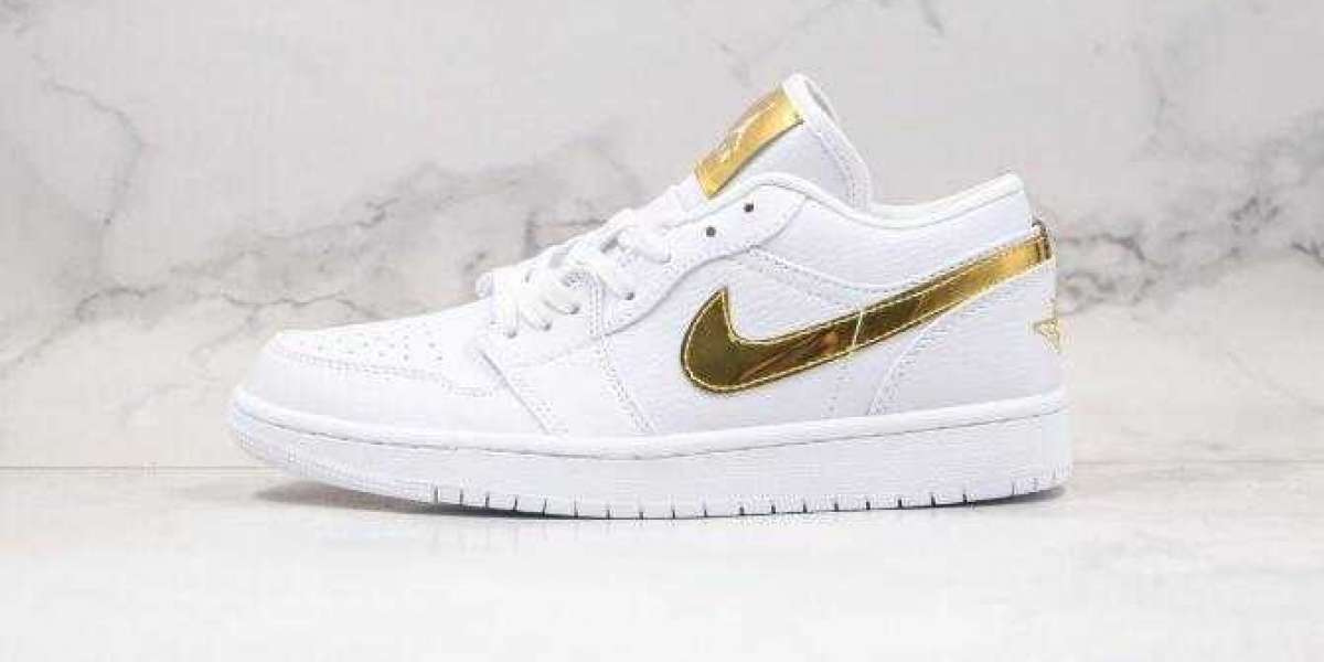 2020 Air Jordan 1 Low White Gold is Available Now