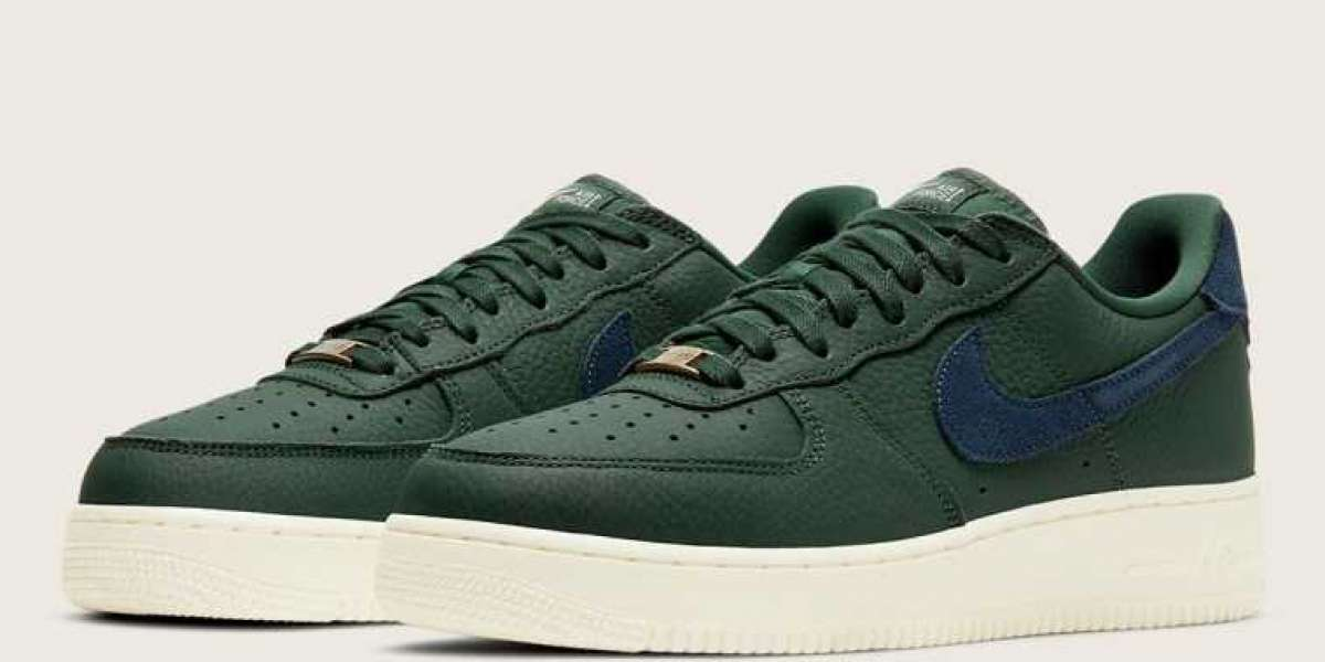 "Nike Air Force 1 '07 Craft ""Galactic Jade"" CV1755-300 Casual Shoe For Sale"
