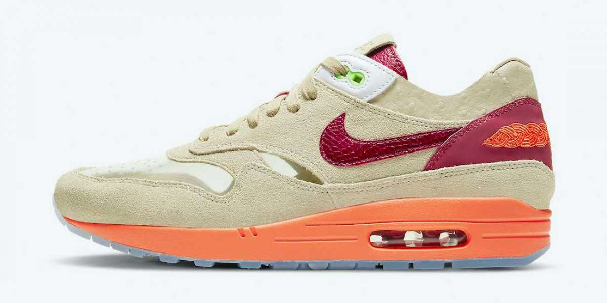 """Where To Buy The Clot x Nike Air Max 1 """"Kiss of Death"""" DD1870-100 Shoes ?"""