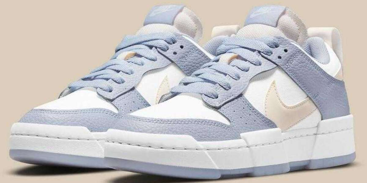 """Nike Dunk Low Disrupt """"Ghost"""" Dropping Tumbled Leather Back Into The Fold"""
