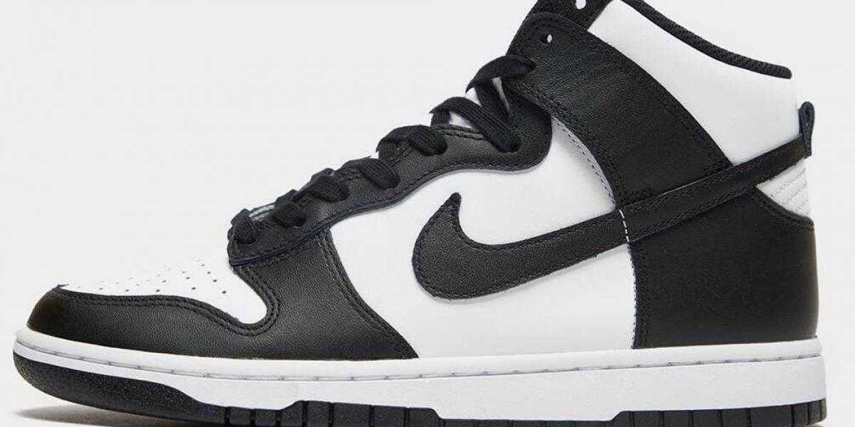 2021 Nike SB Dunk High Black White Will Coming With Red Logos